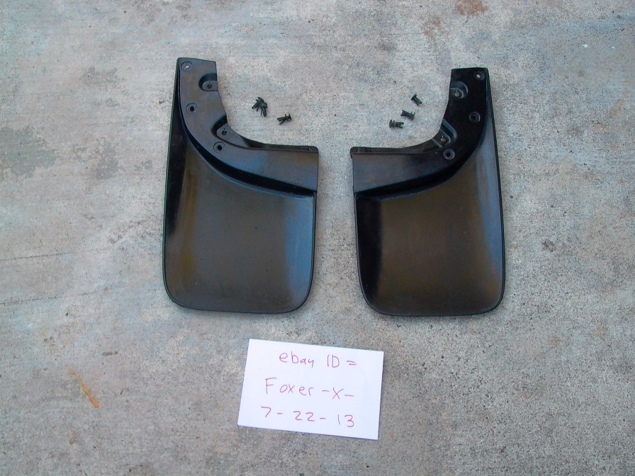 Toyota TACOMA Rear Mud Flaps Splash Guards 2006 - 2013 + Hardware | eBay