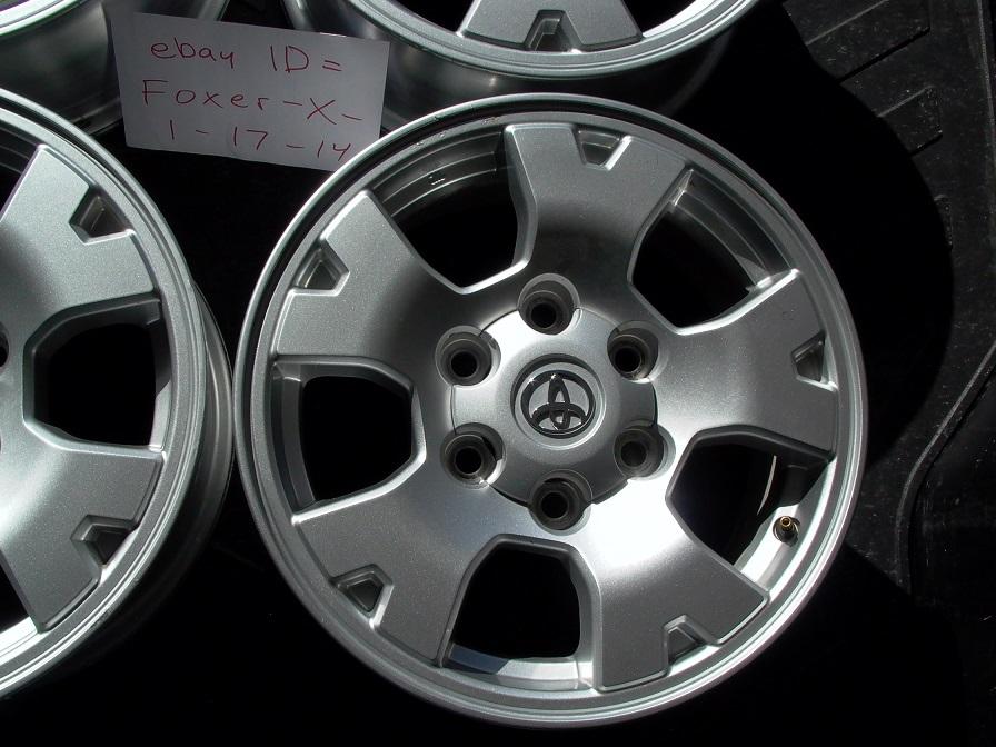 "Toyota Tacoma TRD 16"" Rims Wheels Stock Factory Tundra 4Runner FJ Cruiser"